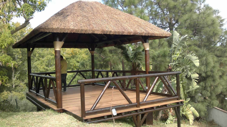 Pergolas p rgolas de madera para terrazas for Cenadores de madera para jardin