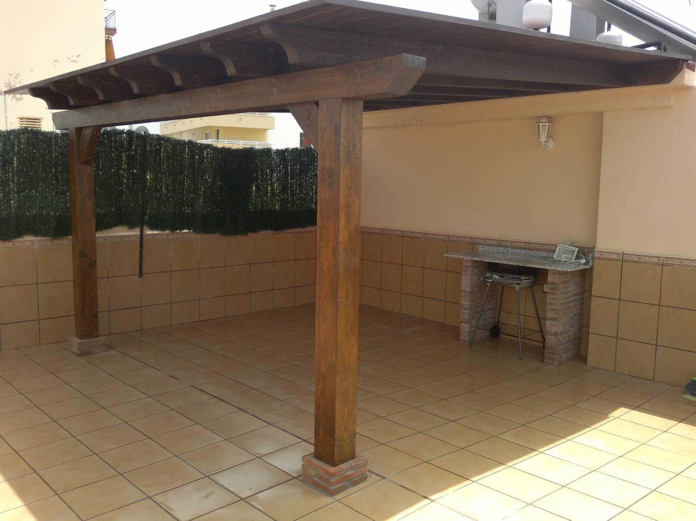 Pergolas - Pérgolas de madera para terrazas